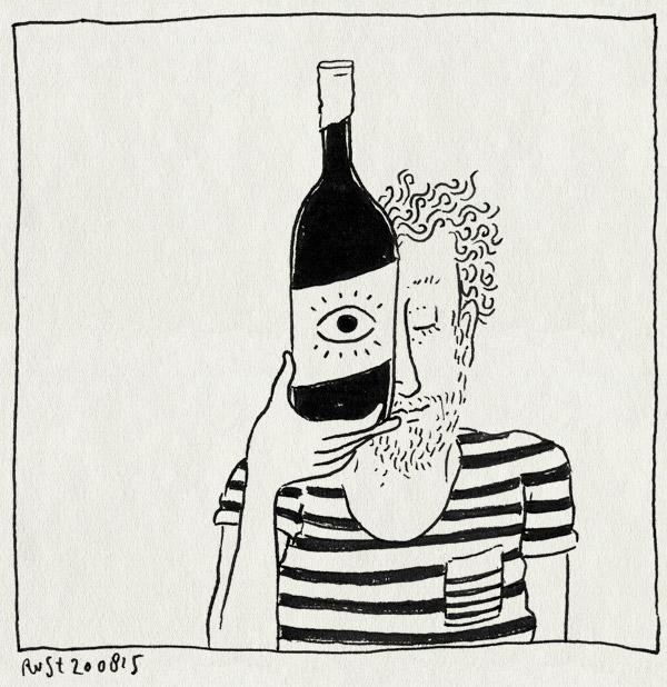 tekening 3009, ontwerp, oog, quinta do quetzal, wijn, wijnfles