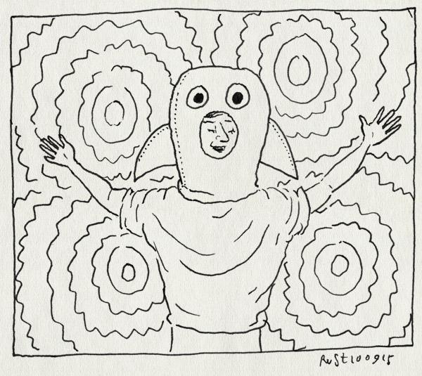 tekening 3030, club club Gewalt, dook, pak, pizzicato five