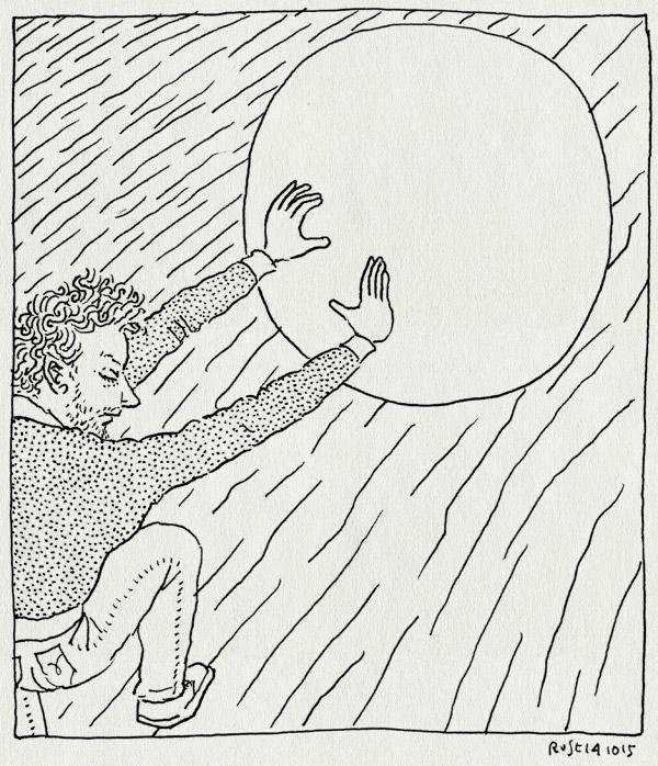 tekening 3064, atlas, berg, paleis, pitch, rollen, sisyphus, steen