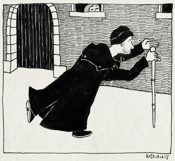 tekening 3066, amsterdam, emil, loopt u mee, nathan, spannend, spooktocht, spookwandeling