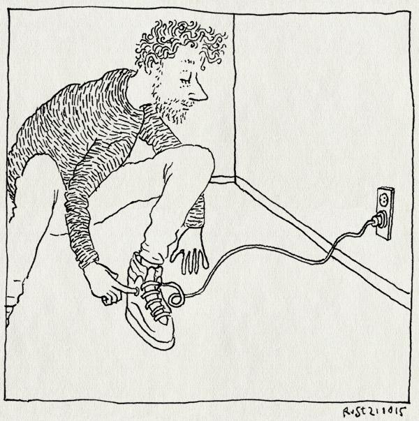 tekening 3071, b2tf, back to the future, bttf, schoen, stekker, stopcontact, uitvinding, veters, zelfstrikkende schoenen