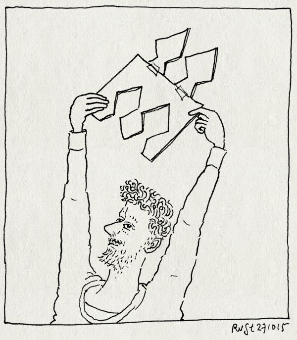 tekening 3077, dus, escher, knippen, les, meester, patroon, tessel, tesselation