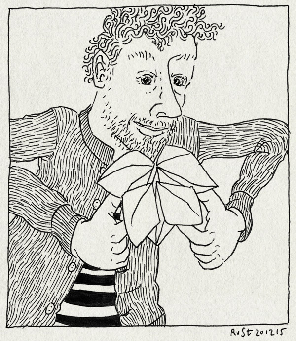 tekening 3131, kiezen, mirjam, origami, spelletje, tellen, vouwen