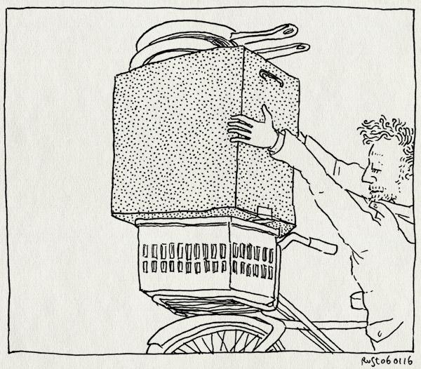 tekening 3148, bestelling, doos, oven, pannen, uitzet, vervoer, vervoeren, vies