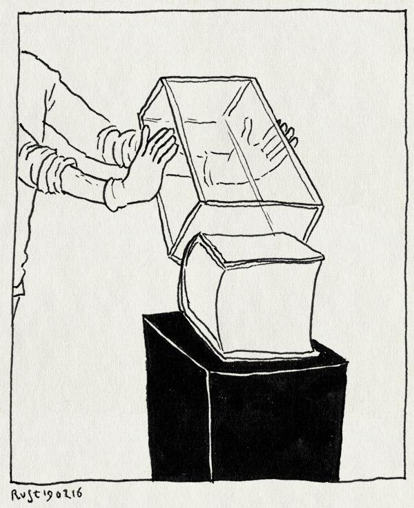 tekening 3192, 2500dagenrust, boek, den haag, meermanno, museum, stolp