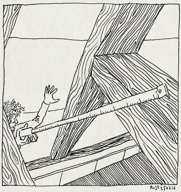 tekening 3198, balken, buro rust meten, nh49, opmeten, rolmaat, vierkante meters