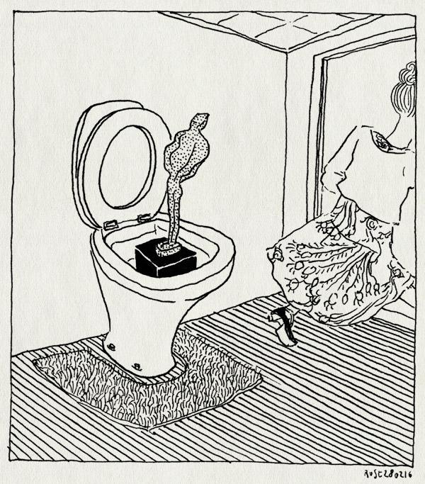 tekening 3201, award, broodfabriek, maaike, rijswijk, stripdagen, stripschapshit, stripschapsprijs, toilet, wc