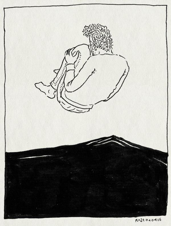 tekening 3237, bed, bom, bommetje, hoeslaken, matras, stoeien