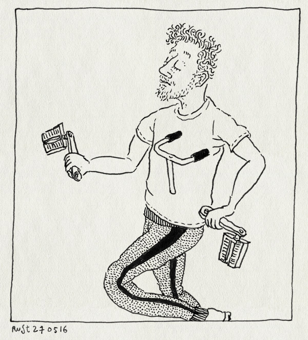 tekening 3290, fiets, gebroken, kruisframe, onderdelen, shirt, stuk, trappers