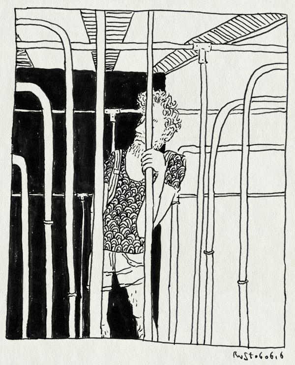 tekening 3300, amsterdam, buizen, film, hiba vink, metro, remember to checkout, short, stang, titels, tram, vasthouden, werk